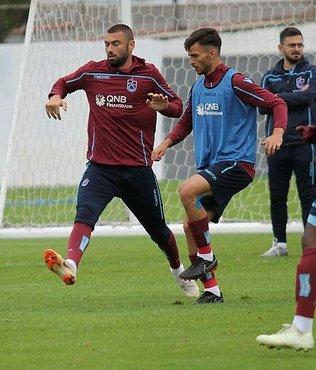 Trabzonspor'un antrenmanında moral bozan sakatlık