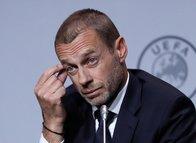UEFA Başkanı Ceferin'den açıklama: Bu karar futbol hayatı için örnek olacak
