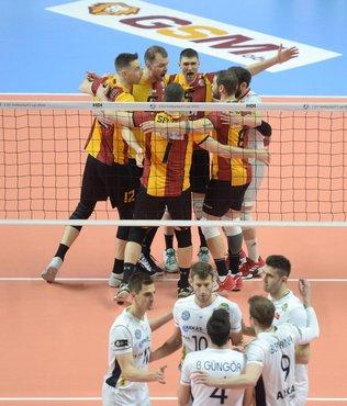 Galatasaray HDI Sigorta 3-1 Arkas | MAÇ SONUCU