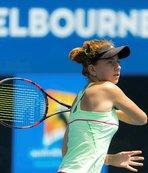 Milli tenisçi Berfu Cengiz, Astana'da ikinci turda