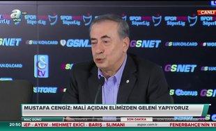 Galatasaray Başkanı Mustafa Cengiz Ndiaye transferi için gün verdi!