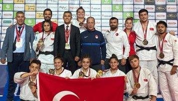 Genç Judo Karma Milli Takımı Paris öncesi olumlu sinyal verdi!