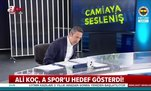 Ali Koç, A Spor'u hedef gösterdi!
