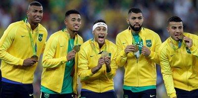 Dünya futbolunun gözdesi Brezilyalılar