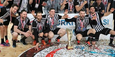 Hentbolda kupa Beşiktaş'ın