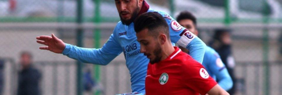 Sivas Belediyespor Trabzonspor maçından kareler