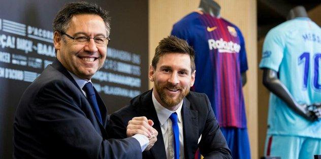 Barcelona, Messi de dahil olmak üzere oyuncu maaşlarında kesintiye gidiyor