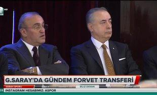 Galatasaray'da gündem forvet transferi