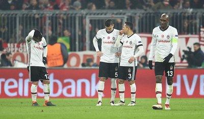 Beşiktaş Şampiyonlar Liginde iz bıraktı