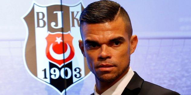 Beşiktaş Pepe'yi KAP'a bildirdi