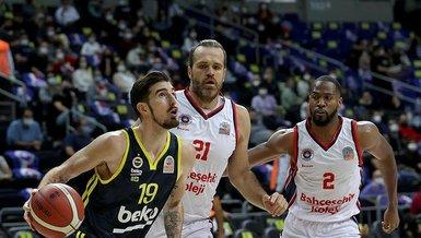 ING Basketbol Süper Ligi - Bahçeşehir Koleji - Fenerbahçe Beko: 78 - 79   MAÇ SONUCU - ÖZET