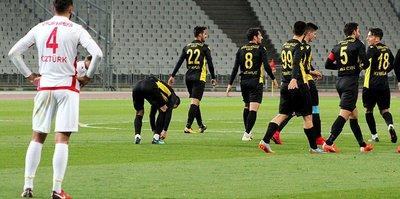 İstanbulspor Bolu'yu tek golle geçti