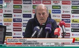 """Mustafa Denizli: """"Üst sıraları hedefliyoruz"""""""