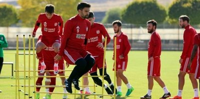 Sivasspor'da Bursaspor maçı hazırlıkları