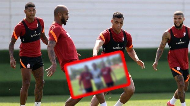 Galatasaray idmanına sürpriz ziyaret! Johan Elmander paylaştı