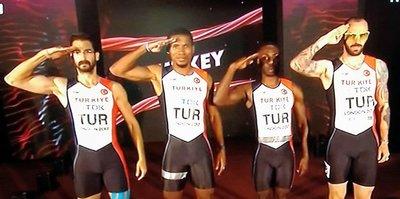 Bolt sakatlandı, Milliler 7. oldu