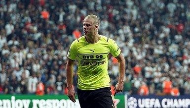 Son dakika spor haberi: Erling Haaland Şampiyonlar Ligi'ndeki 21. golünü attı