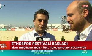Bilal Erdoğan: Ünlü futbolcularla ok atacağız