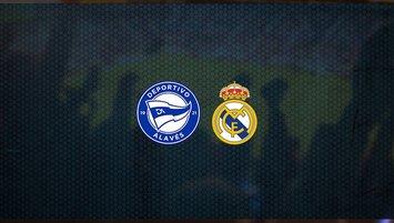 Alaves - Real Madrid maçı saat kaçta ve hangi kanalda?