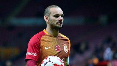 """Son dakika spor haberi: Wesley Sneijder'den Galatasaray yorumu! """"PSV maçı..."""""""