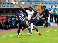 Kasımpaşa-Fenerbahçe maçından kareler...