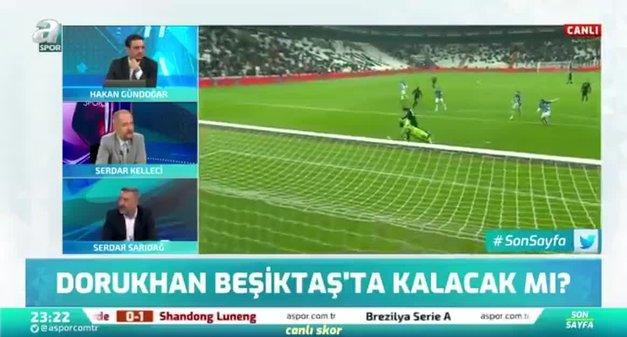 Dorukhan Beşiktaş'ta kalacak mı? Canlı yayında açıkladı!