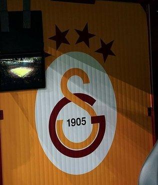 Galatasaray kulübesinde ilginç görüntü!