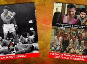 Fenerbahçe - L. Moskova maçı capsleri