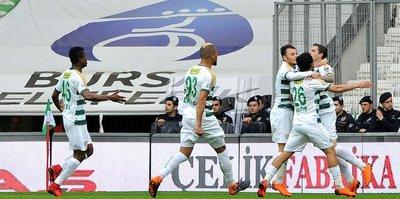Bursaspor'da Stancu etkisi