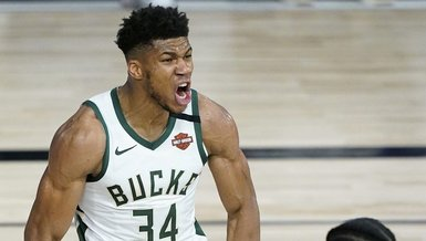 Son dakika spor haberi: Milwaukee Bucks'ın Giannis Antetokounmpo MVP oldu!