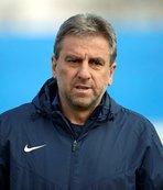 Hamza Hamzaoğlu Erzurumspor'un başında ilk antrenmanına çıktı