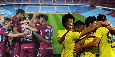 Trabzonspor-Fenerbahçe... İşte derbi ilk 11'leri!