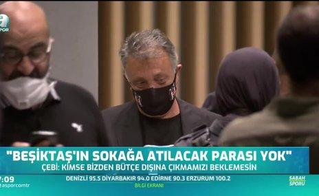 """""""Beşiktaş'ın sokağa atılacak parası yok"""""""