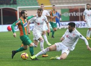 Alanyaspor - Sivasspor maçından kareler