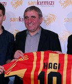 Galatasaray Hagi'nin doğum gününü kutladı
