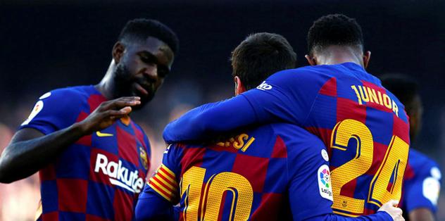 Barça yine ilke imza attı