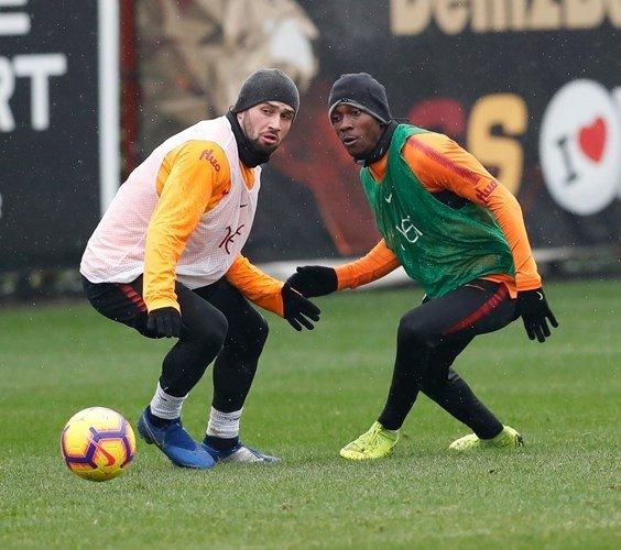 Galatasaray Medipol Başakşehir maçı hazırlıklarını sürdürdü