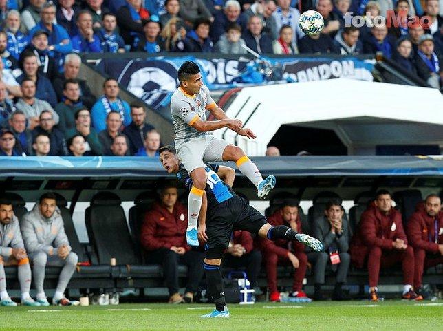 O an objektiflere böyle yansıdı... Club Brugge Galatasaray maçında sürpriz! Mbaye Diagne... | Son dakika Şampiyonlar Ligi haberleri
