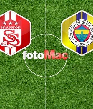 Sivasspor - Fenerbahçe maçı ne zaman saat kaçta ve hangi kanalda yayınlanacak?