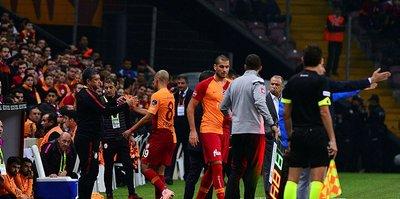 Galatasarayda Serdar Aziz, Feghouli ve Fernando sakatlandı!