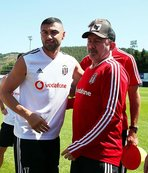 Turkish forward Burak Yilmaz bids farewell to Besiktas