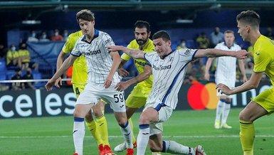 Villarreal Atalanta: 2-2 | MAÇ SONUCU - ÖZET | Merih Demiral'lı Atalanta 1 puan aldı