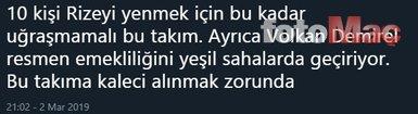 Fenerbahçe taraftarlarından Volkan Demirel'e tepki!