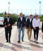 Kafkas, DG Sivasspor'un altyapı tesislerini inceledi