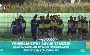 Fenerbahçe'de büyük temizlik