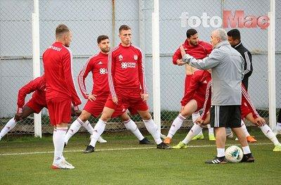 Sivasspor'da Antalyaspor maçı hazırlıkları başladı