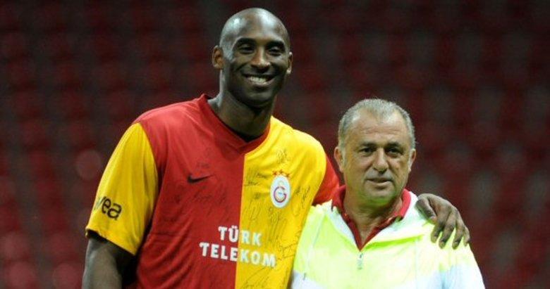 Kobe Bryant ve Fatih Terim'in yolları Galatasaray'da kesişmişti! O anlar...