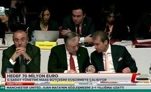Galatasaray'da hedef 70 milyon Euro