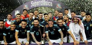 Superclasico'nun kazananı Arjantin!