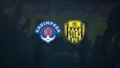 Kasımpaşa-Ankaragücü maçı ne zaman, saat kaçta ve hangi kanalda CANLI yayınlanacak? İşte detaylar...